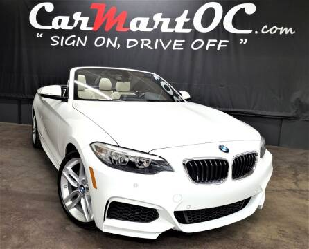 2016 BMW 2 Series for sale at CarMart OC in Costa Mesa, Orange County CA