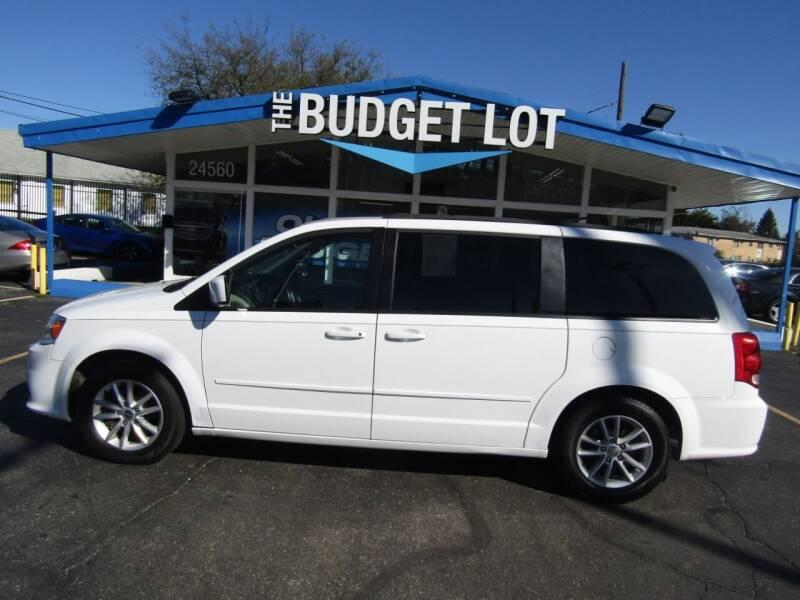 2016 Dodge Grand Caravan for sale at THE BUDGET LOT in Detroit MI