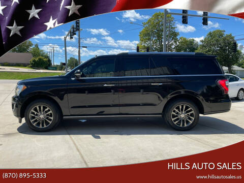 2019 Ford Expedition MAX for sale at Hills Auto Sales in Salem AR