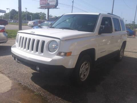 2017 Jeep Patriot for sale at Best Buy Autos in Mobile AL