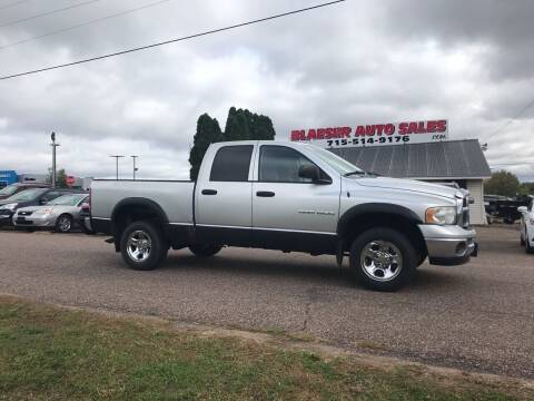 2005 Dodge Ram Pickup 1500 for sale at BLAESER AUTO LLC in Chippewa Falls WI