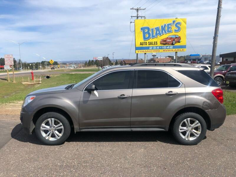 2011 Chevrolet Equinox for sale at Blake's Auto Sales in Rice Lake WI