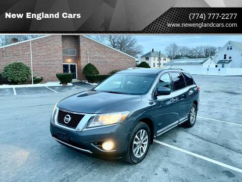 2014 Nissan Pathfinder Hybrid for sale at New England Cars in Attleboro MA