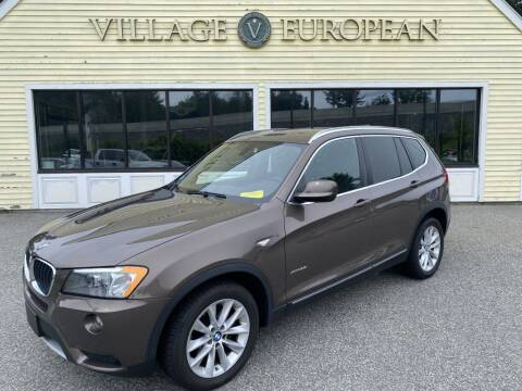 2013 BMW X3 for sale at Village European in Concord MA