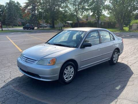 2003 Honda Civic for sale at Dittmar Auto Dealer LLC in Dayton OH