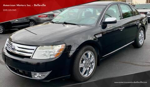 2008 Ford Taurus for sale at American Motors Inc. - Belleville in Belleville IL