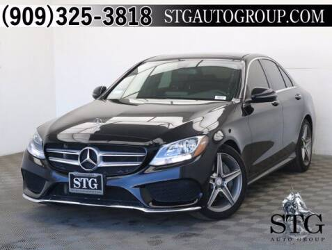 2016 Mercedes-Benz C-Class for sale at STG Auto Group in Montclair CA