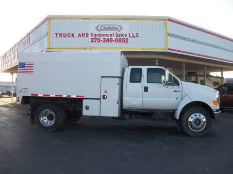 2008 Ford F750 Chip Truck for sale at Classics Truck and Equipment Sales in Cadiz KY