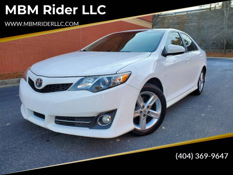 2013 Toyota Camry for sale at MBM Rider LLC in Alpharetta GA