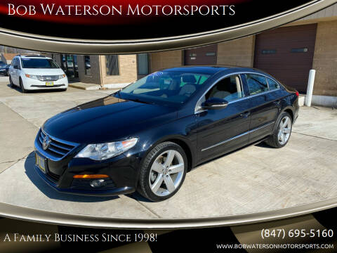 2012 Volkswagen CC for sale at Bob Waterson Motorsports in South Elgin IL