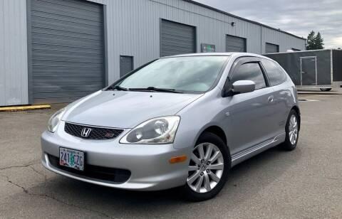 2005 Honda Civic for sale at DASH AUTO SALES LLC in Salem OR