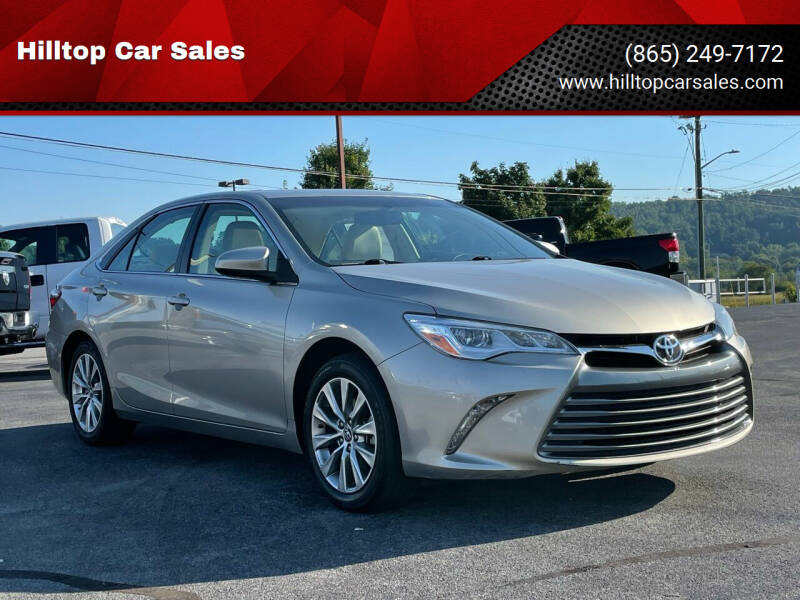 2017 Toyota Camry for sale at Hilltop Car Sales in Knoxville TN