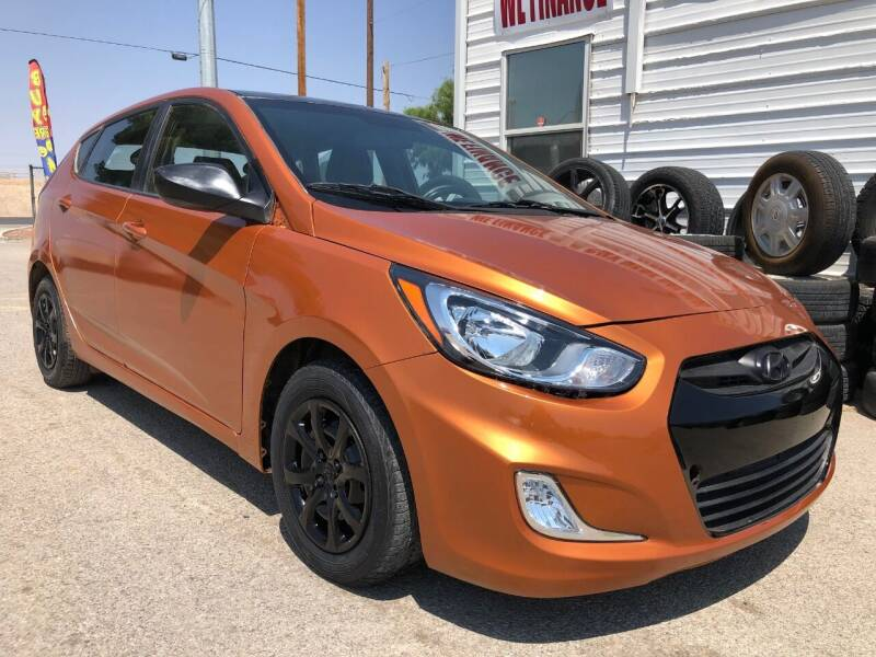 2014 Hyundai Accent for sale at Eastside Auto Sales in El Paso TX