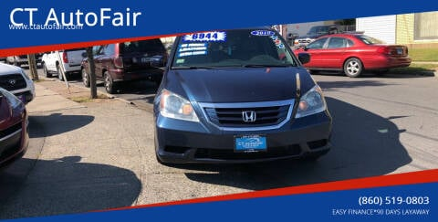2010 Honda Odyssey for sale at CT AutoFair in West Hartford CT