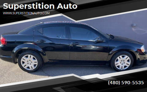 2013 Dodge Avenger for sale at Superstition Auto in Mesa AZ
