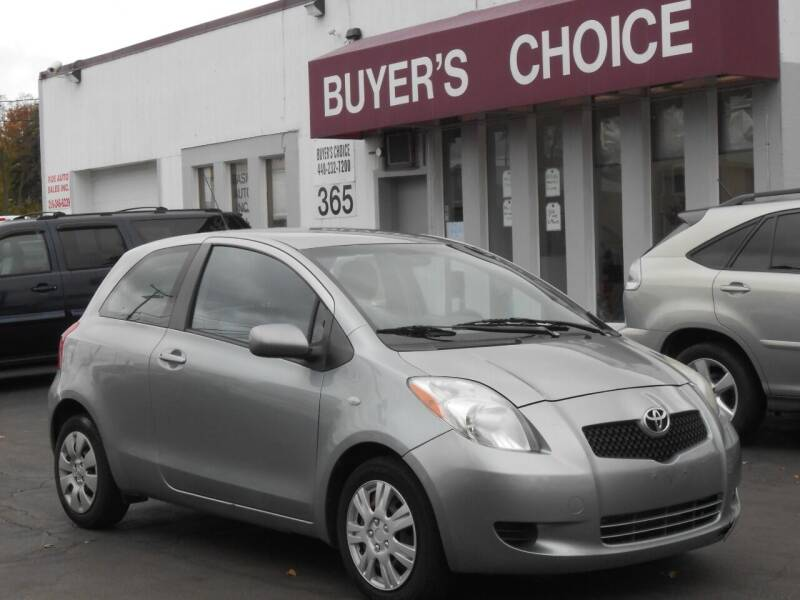 2008 Toyota Yaris for sale at Buyers Choice Auto Sales in Bedford OH