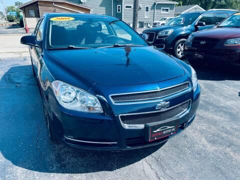 2008 Chevrolet Malibu for sale at SHEFFIELD MOTORS INC in Kenosha WI