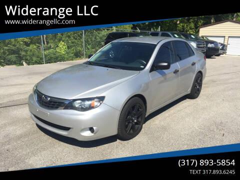 2008 Subaru Impreza for sale at Widerange LLC in Greenwood IN