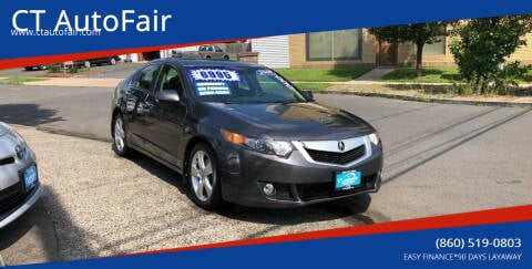 2009 Acura TSX for sale at CT AutoFair in West Hartford CT