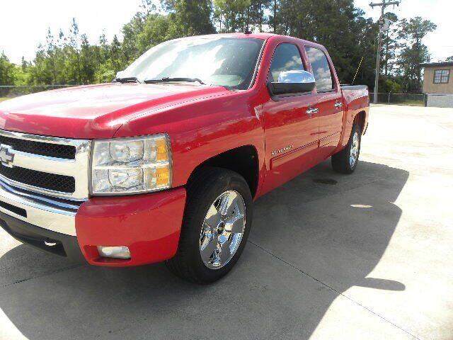 2011 Chevrolet Silverado 1500 for sale at VANN'S AUTO MART in Jesup GA