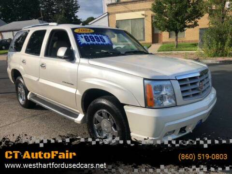 2004 Cadillac Escalade for sale at CT AutoFair in West Hartford CT