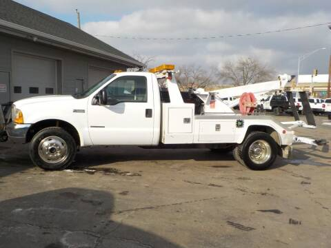 2000 Ford F-550 Super Duty for sale at Steffes Motors in Council Bluffs IA
