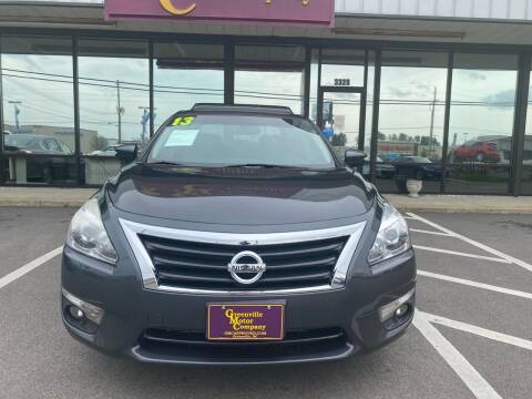 2013 Nissan Altima for sale at Kinston Auto Mart in Kinston NC