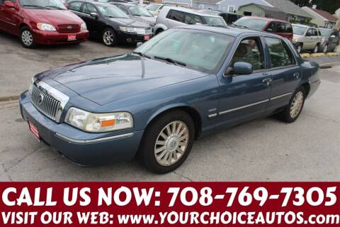 2009 Mercury Grand Marquis for sale at Your Choice Autos in Posen IL