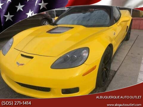 2013 Chevrolet Corvette for sale at ALBUQUERQUE AUTO OUTLET in Albuquerque NM