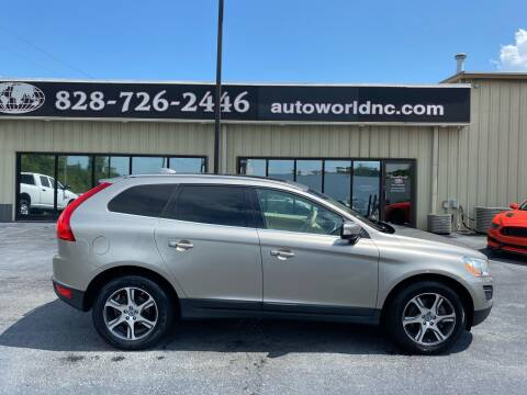 2013 Volvo XC60 for sale at AutoWorld of Lenoir in Lenoir NC