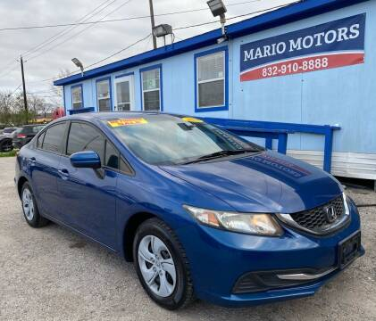 2014 Honda Civic for sale at Mario Motors in South Houston TX