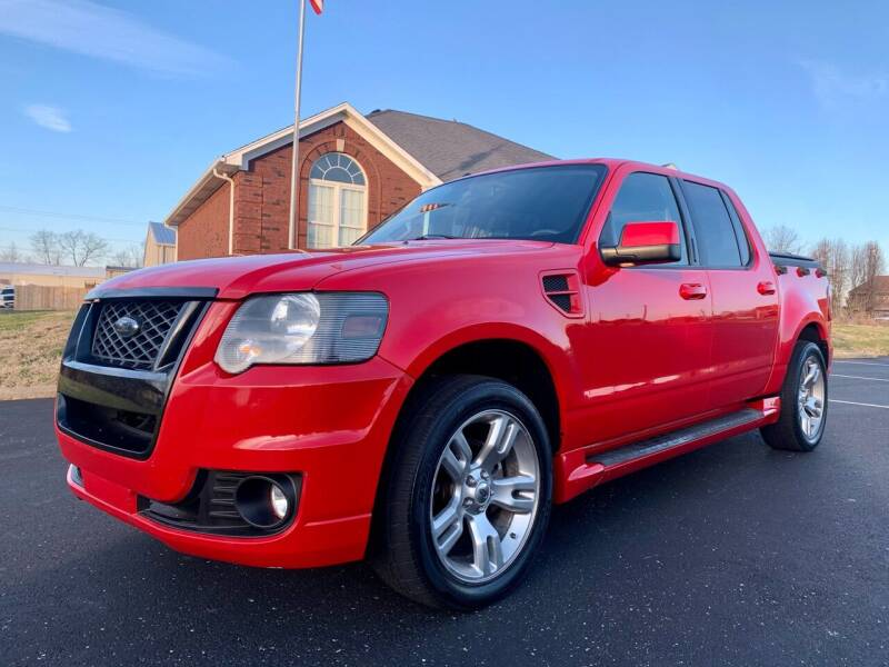 2008 Ford Explorer Sport Trac for sale at HillView Motors in Shepherdsville KY