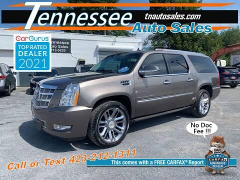 2011 Cadillac Escalade ESV for sale at Tennessee Auto Sales in Elizabethton TN