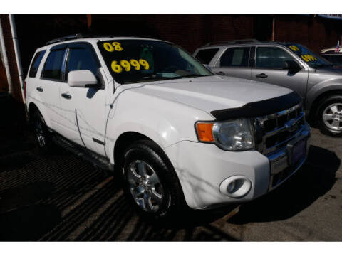 2008 Ford Escape for sale at MICHAEL ANTHONY AUTO SALES in Plainfield NJ