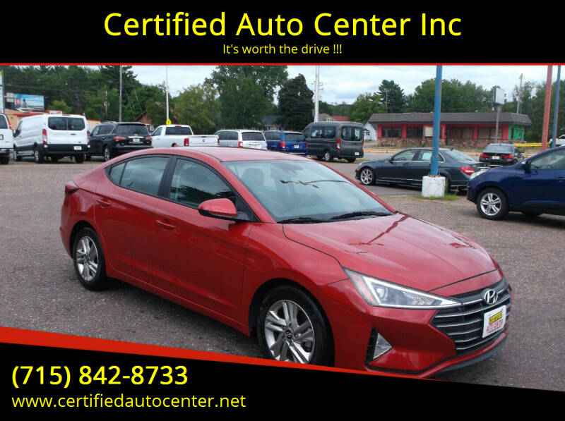 2019 Hyundai Elantra for sale at Certified Auto Center Inc in Wausau WI