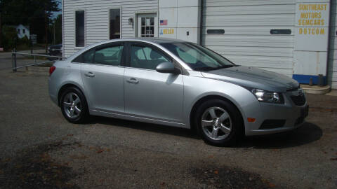 2014 Chevrolet Cruze for sale at Southeast Motors INC in Middleboro MA