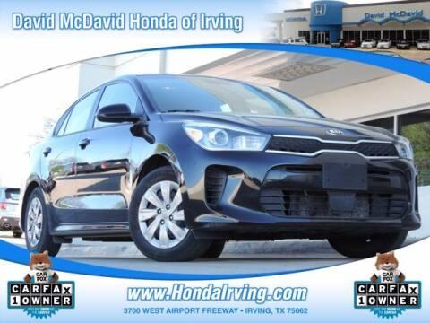2019 Kia Rio for sale at DAVID McDAVID HONDA OF IRVING in Irving TX