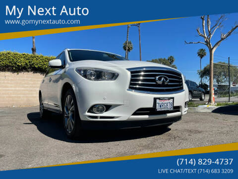 2014 Infiniti QX60 Hybrid for sale at My Next Auto in Anaheim CA