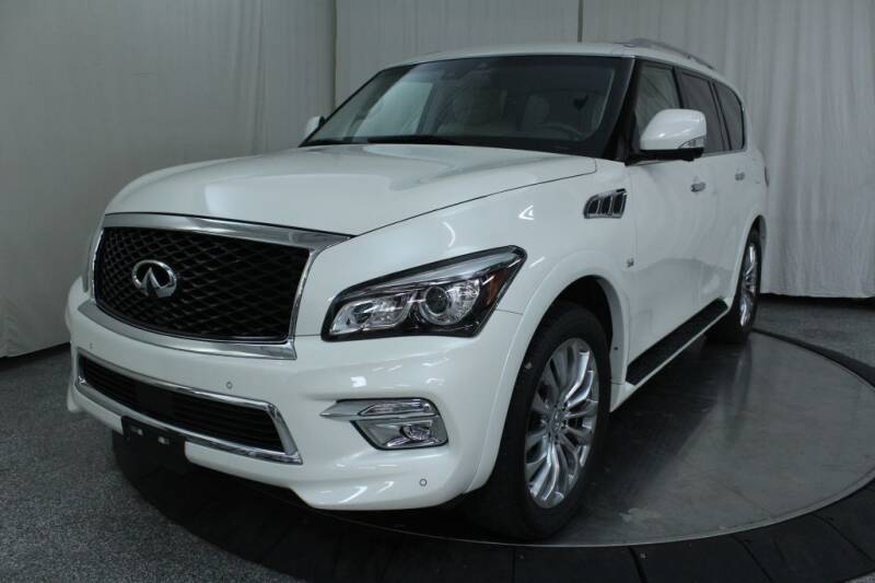 2017 Infiniti QX80 for sale at Northeast Auto Sale in Wickliffe OH