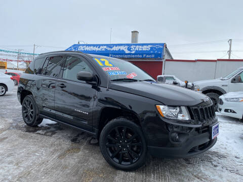 2012 Jeep Compass for sale at Gonzalez Auto Sales in Joliet IL