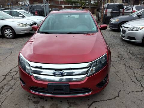 2010 Ford Fusion for sale at Six Brothers Auto Sales in Youngstown OH