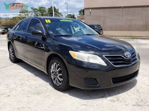 2011 Toyota Camry for sale at GATOR'S IMPORT SUPERSTORE in Melbourne FL