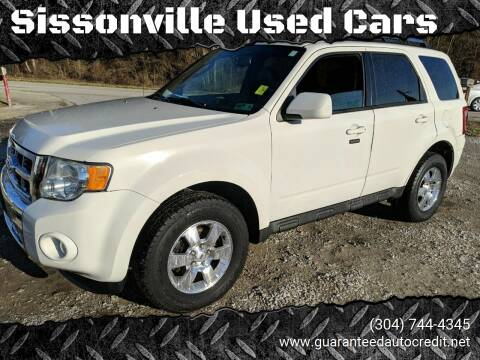 2011 Ford Escape for sale at Sissonville Used Cars in Charleston WV