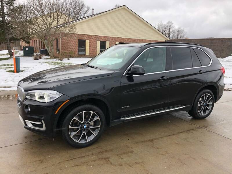 2015 BMW X5 for sale at Renaissance Auto Network in Warrensville Heights OH