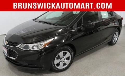 2018 Chevrolet Cruze for sale at Brunswick Auto Mart in Brunswick OH