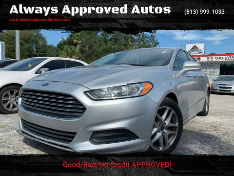 2015 Ford Fusion for sale at Always Approved Autos in Tampa FL