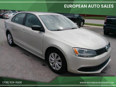 2011 Volkswagen Jetta for sale at European Auto Sales in Bridgeview IL