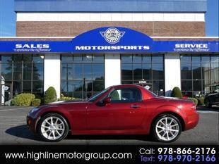 2012 Mazda MX-5 Miata for sale at Highline Group Motorsports in Lowell MA