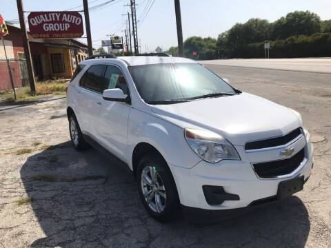 2013 Chevrolet Equinox for sale at Quality Auto Group in San Antonio TX
