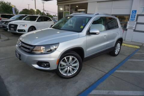 2013 Volkswagen Tiguan for sale at Industry Motors in Sacramento CA